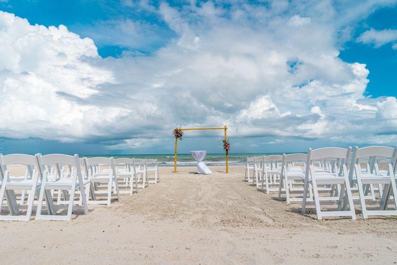 Gorgeous Beach Ceremony