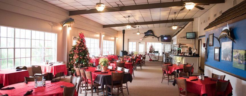 Restaurant indoors