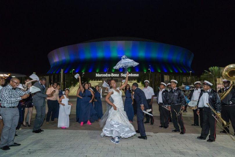 Superdome Wedding