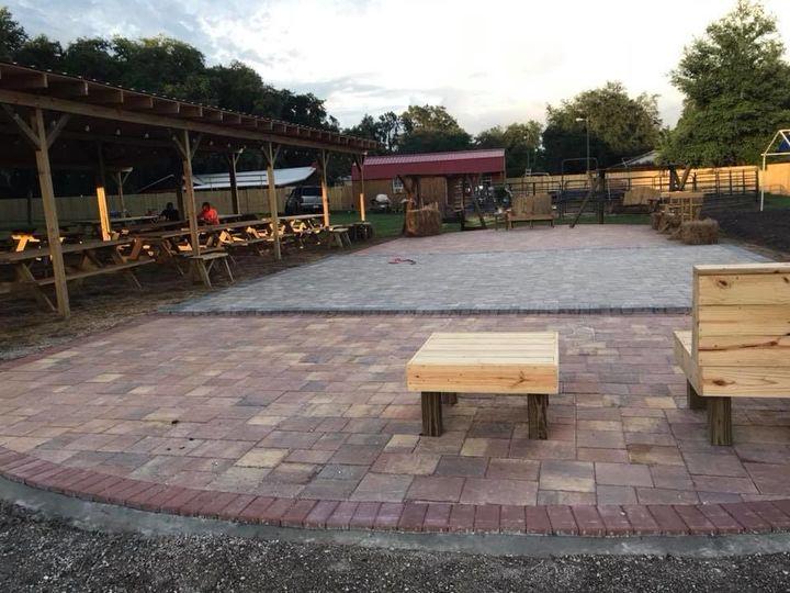 Venue's outdoor space