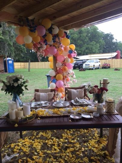 Newlyweds tables