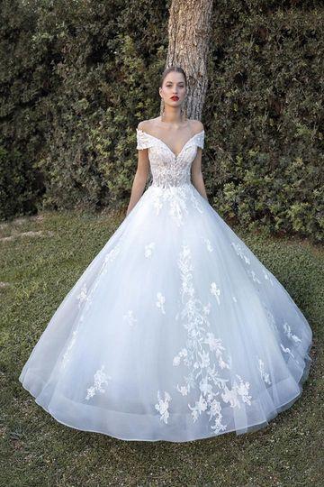 Aline gown