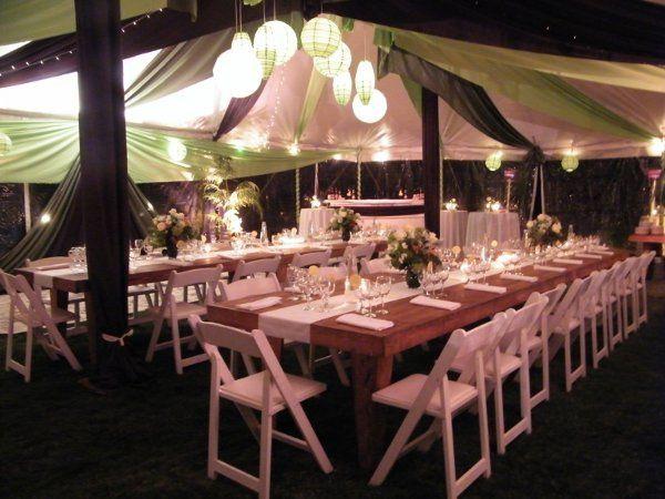 Custom Designed Reception Tents