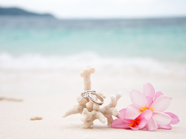 Tmx 1380847161378 Bigstock Two Wedding Rings On Coral In  30642362 Happy Valley, OR wedding travel