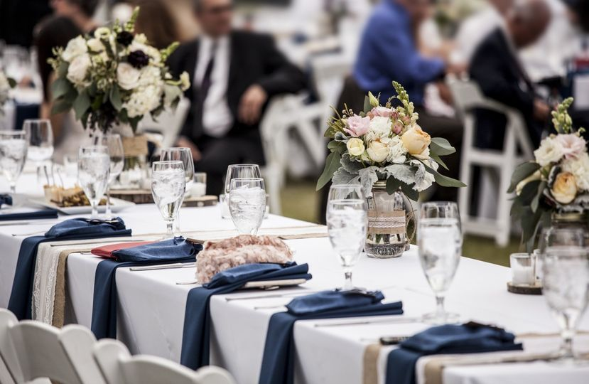 Blue Set Table Up