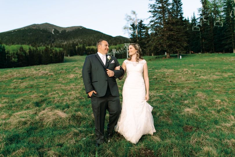 June Alpine Wedding
