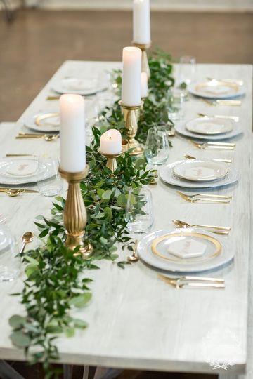 Sample table decor