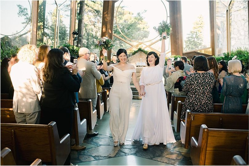 Wedding couple in the Chapel