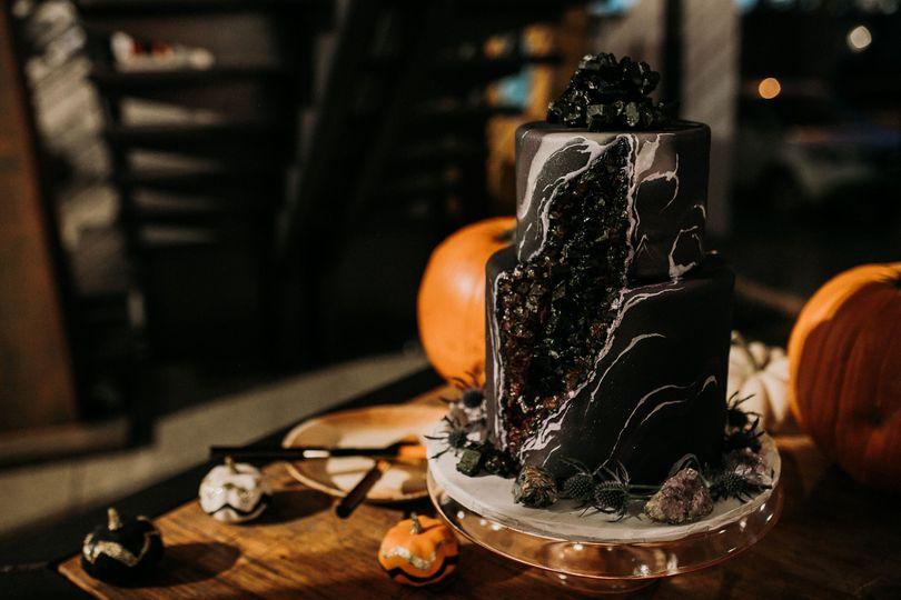 Custom stone cake