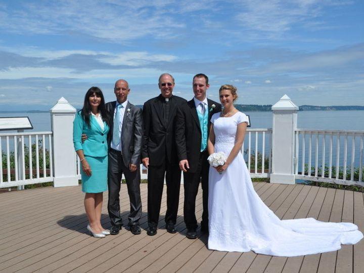 Tmx 1523561238 3f77f31dd1faa823 1523561237 898e00583d81bb9f 1523561238064 4 Bronson And Adrien Lakewood, Washington wedding officiant