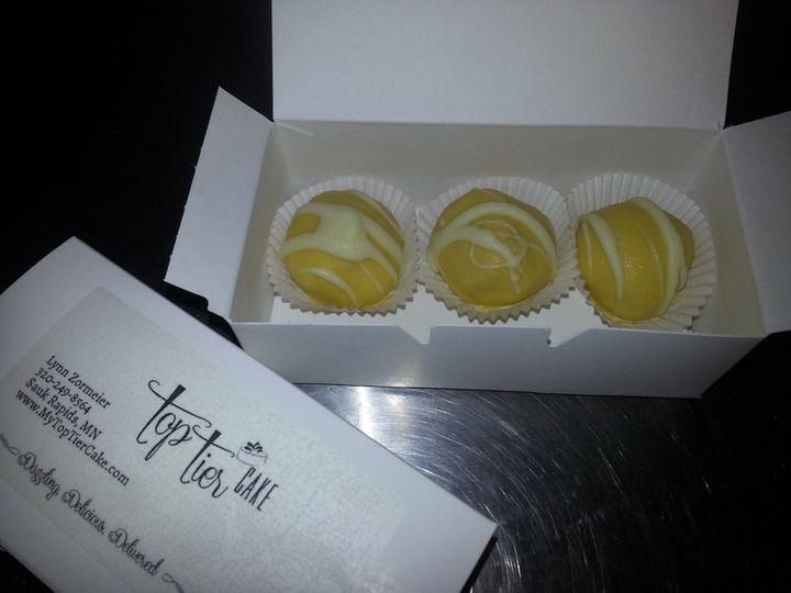 Tmx 1395110457163 Cake Truffle Sauk Rapids wedding cake