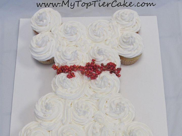 Tmx 1395110937842 Cupcake Wedding Dres Sauk Rapids wedding cake