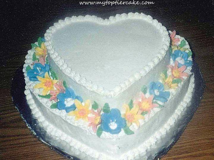 Tmx 1395111039461 Heart 2 Tieredited  Sauk Rapids wedding cake