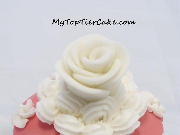 Tmx 1395111246175 Rose Cupcak Sauk Rapids wedding cake