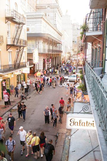 Bourbon Street Views