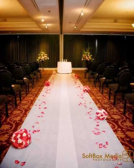 Ceremony in the Junior Ballroom