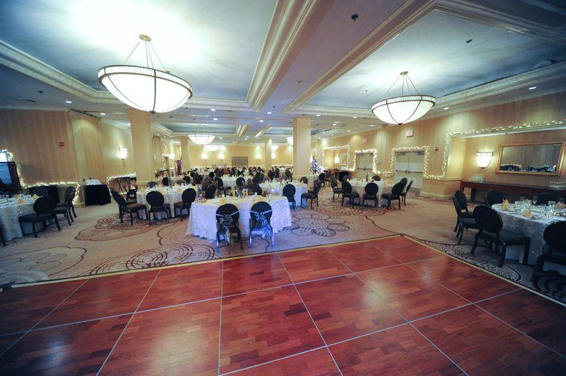 ballroom shaw wedding