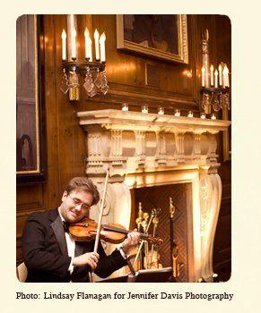 ViolinistbyFireplace