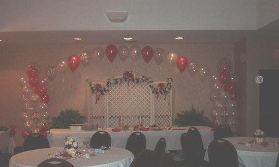 Cake Table Arch Design
