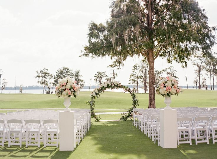 Lake Nona Wedding Ceremony