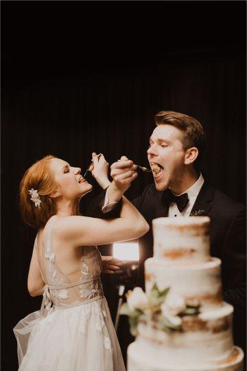 Enjoy life and eat cake