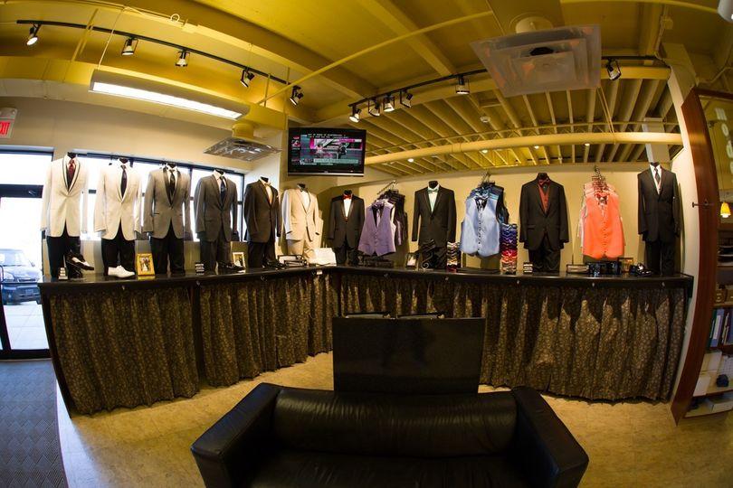 Tuxedo shop