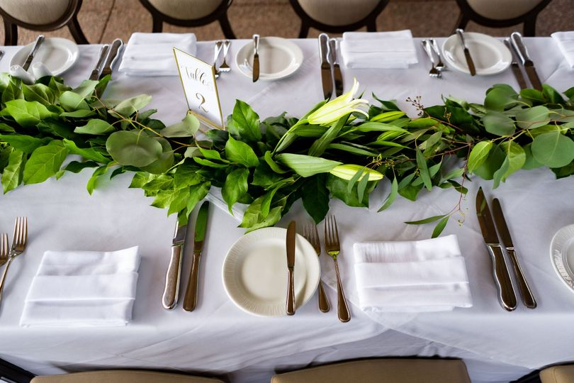 Family-style tables
