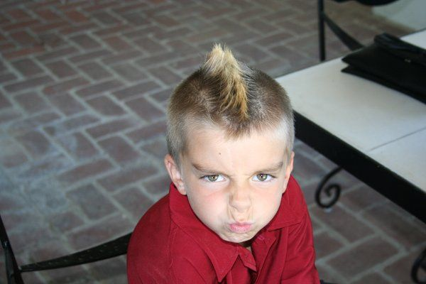 Little Boy's Mohawk