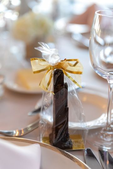 Chocolate Tower Favors