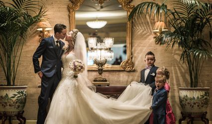 The wedding of Michael and Elain