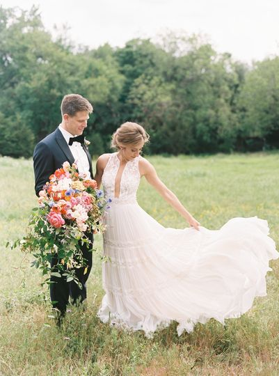 Colorful Farm-to-Table Wedding