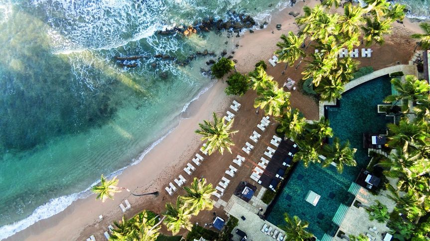 Aerial view of Dorado Beach