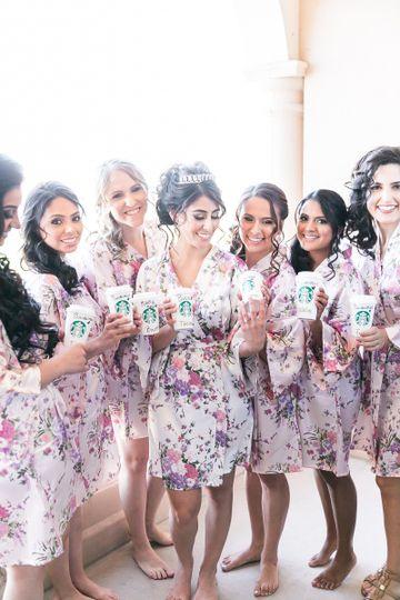 Fun bridesmaids