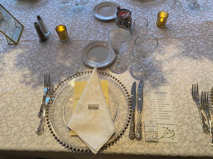 Table-Wedding Reception