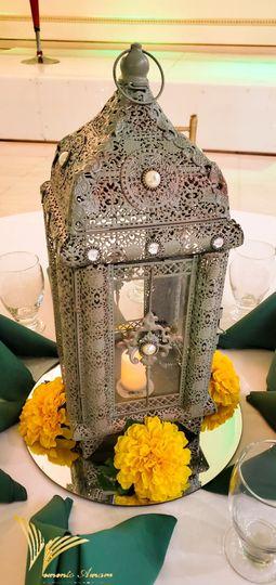 Lantern decor for events