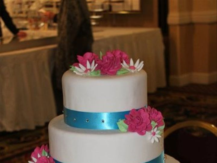Tmx 1302809558580 16646010150373210095582399095640581166232162564414n Albany wedding cake