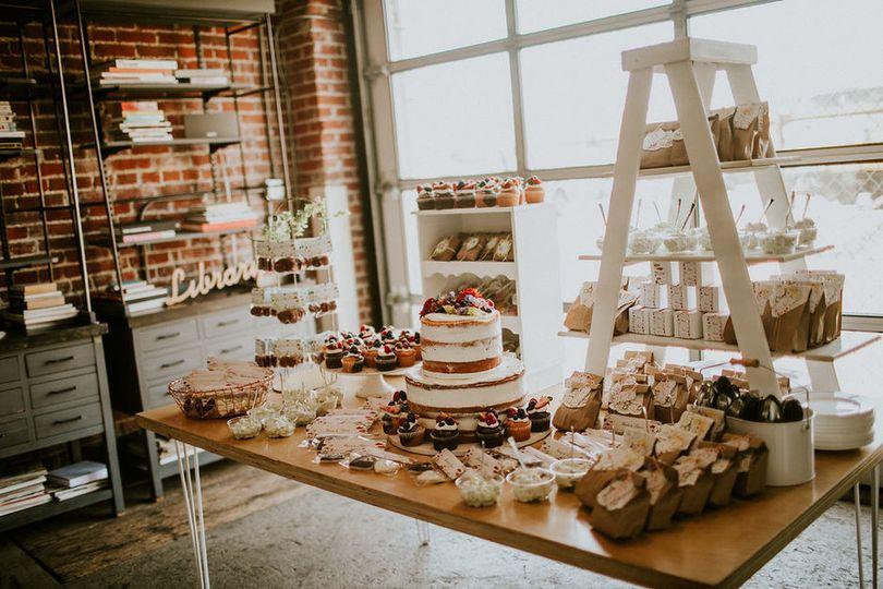 Cake and treats