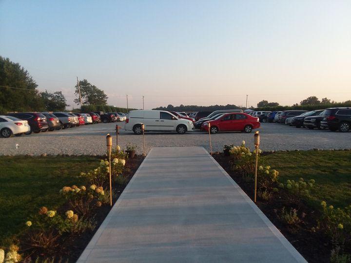 Large Parking Lot