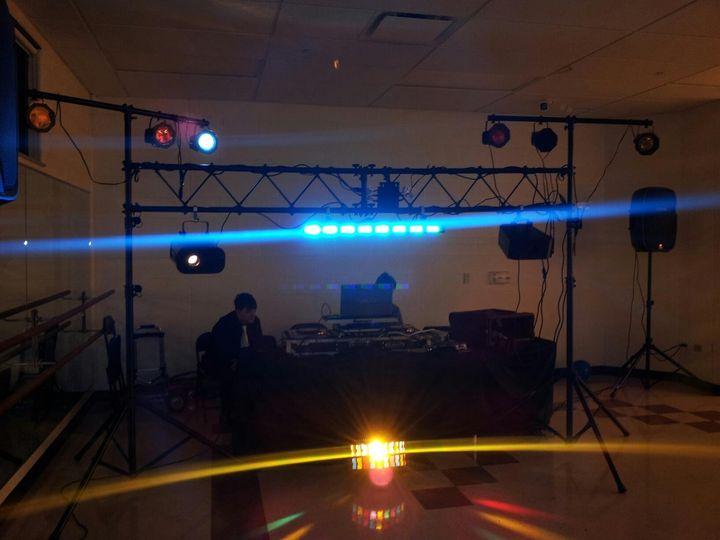 DJ uplightning