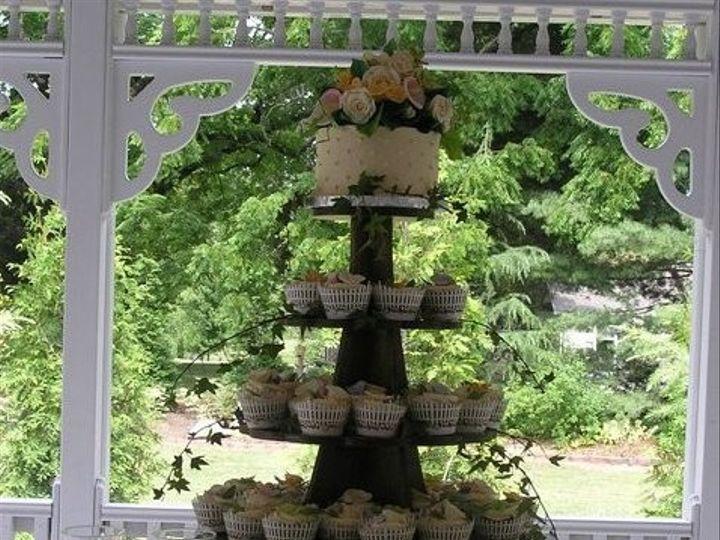 Tmx 1376598172717 Wedding Cupcake Tower Colfax wedding cake