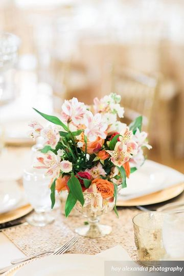 Small floral decoration