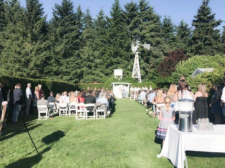 Wedding ceremony are