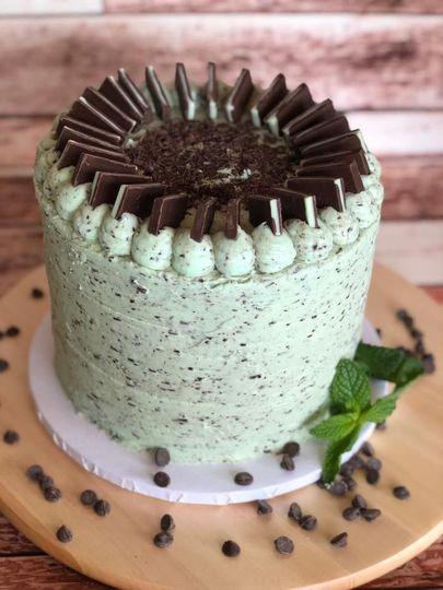 Mint Chocolate Chip Mega Cake