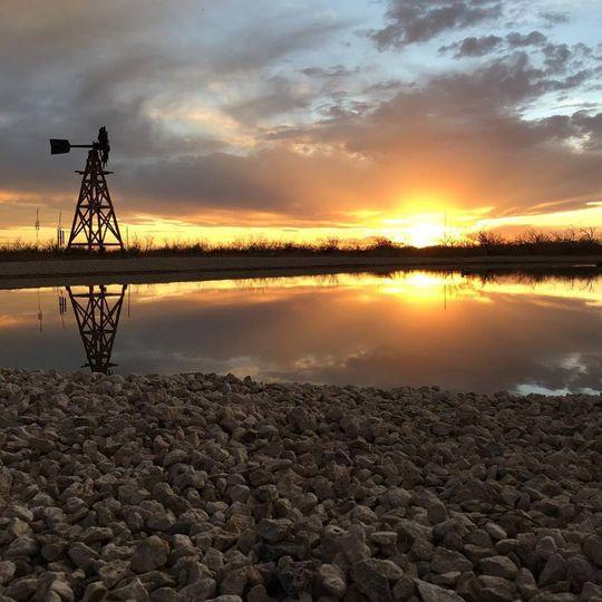 pond sunset 51 985506