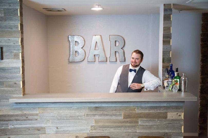 Bar in Groom's Room