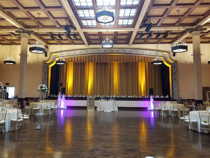 The Prado Balboa We did the lighting for this elegant wedding