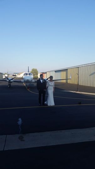 Airport Wedding