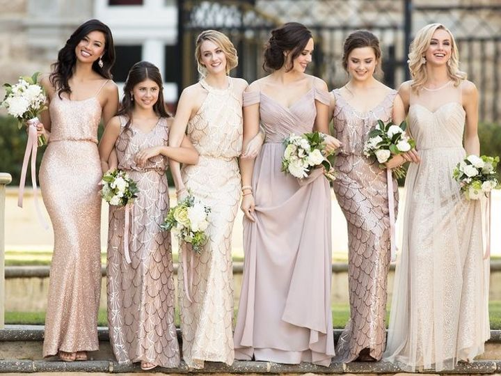 Tmx Glitter Bridesmaid Dresses 24 Best Sequin Bridesmaid Dresses The Bridal Boutique By Maeme 51 27506 V1 Addison, TX wedding dress