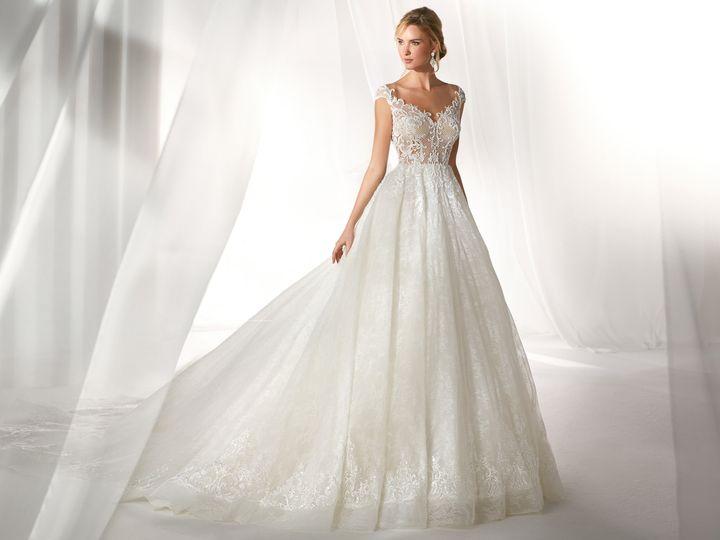 Tmx Nicole Spose Niab19124 Nicole Moda Sposa 2019 481 51 27506 Addison, TX wedding dress