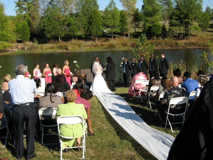 Tmx 1339595626889 Pond Warrenton, NC wedding venue